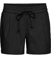 shorts in misto lino (nero) - bodyflirt