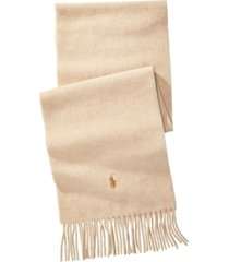 polo ralph lauren cashmere blend scarf