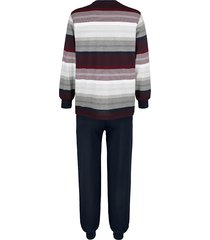 pyjamas g gregory 1 marinblå/bordeaux