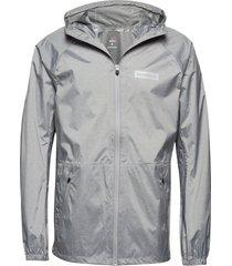men's waterproof jacket outerwear sport jackets grijs newline