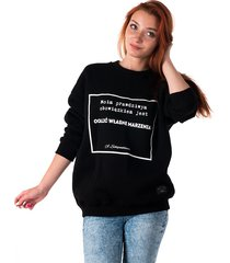bluza unisex z cytatem, schopenhauer, marzenia