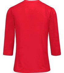 shirt ronde hals van uta raasch rood