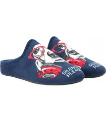pantufla hp slipper silence azul hush puppies
