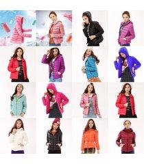 duck goose down ultralight winter jacket women warm puffer coat outwear packable