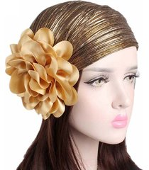 cappellino per chemioterapia con berretto elasticizzato in grinza e cappuccio da donna