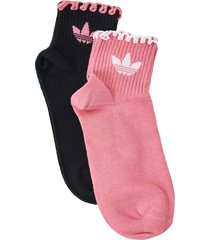 strumpor ruffle sock 2-pack