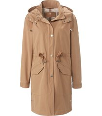 lange jas in parka-stijl van fuchs & schmitt bruin