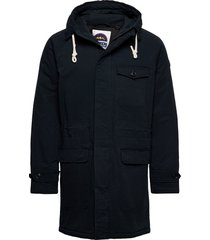 classic padded organic cotton parka jacket parka jas scotch & soda