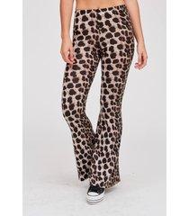 pantalón color unico 47 street animal print