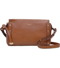radley london zip-top leather crossbody