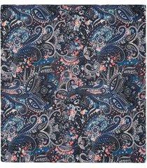 pañuelo de bolsillo con un diseño de paisleys para hombre 04143