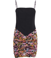 versace jeans couture polyamide dress