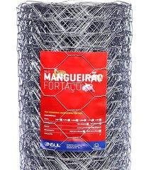 """tela hexagonal mangueirão insul fortaço 3"""", 1,00 x 50 metros"""