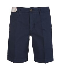 blue cotton man bermuda shorts