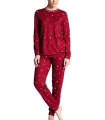 calida winter dreams pyjama with cuff