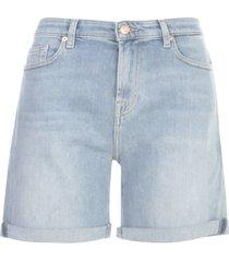 7 for all mankind boy shorts blurred