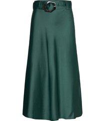 noella skirt lång kjol grön twist & tango