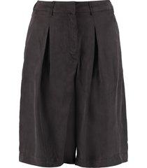 lautre chose wide leg bermuda shorts