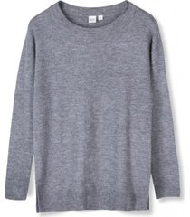 chaleco tunic crew mujer gris gap