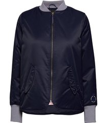 easy straight fit bomber bomberjack blauw scotch & soda