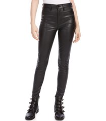 kendall + kylie faux-leather skinny pants