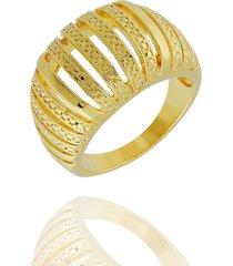 anel dona diva semi joias abauldado dourado