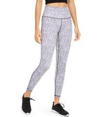 ideology leopard-print high-waist leggings, created for macy's