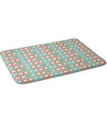 deny designs heather dutton ring a ding bath mat bedding