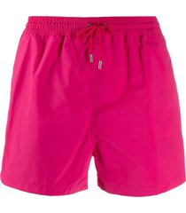 paul smith plain swim shorts - pink