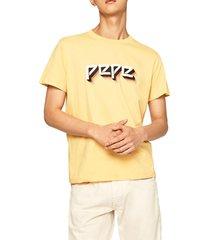 camiseta amarillo-blanco pepe jeans