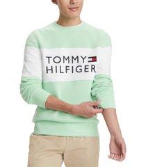 tommy hilfiger men's stellar logo graphic sweatshirt, created for macy's