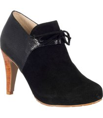 botin formal para dama san polos at-137 negro
