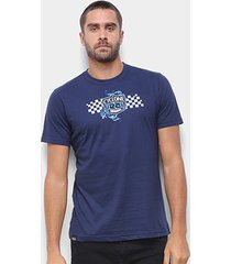 camiseta cyclone chess tribal silk masculina - masculino
