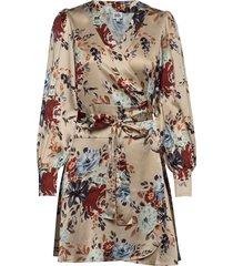 teresa dress kort klänning creme twist & tango