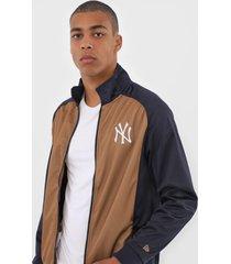 jaqueta new era new york yankees azul-marinho - azul marinho - masculino - dafiti
