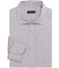 id textured dress shirt