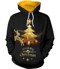 2017 3d christmas x mas tree hoodie unisex digital print sweatshirts hooded top