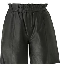 skinnshorts cualina leather shorts