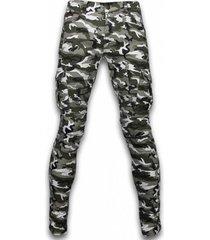 cargobroek true rise ripped jeans biker jeans side pocket