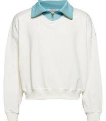 connor turtleneck sweat-shirt trui wit martin asbjørn