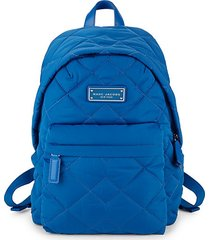diamond quilted backpack