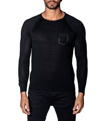 trim-fit lightweight sweater