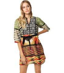 vestido multicolor sophya yoko