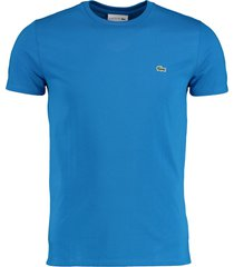 lacoste t-shirt blauw regular fit th6709/l61