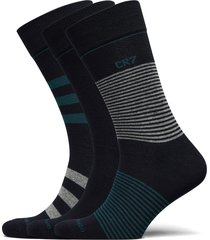cr7 mens socks 3-pack underwear socks regular socks blå cr7
