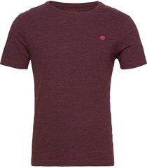 i logo softwash organic tee t-shirts short-sleeved röd banana republic