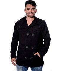 casaco blazer carbella lã batida preta