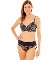 bikini barba escote corazon magic negro ac mare