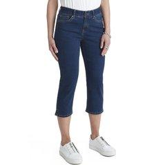 jeans capri azul curvi