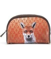 kosmetyczka damska piórnik lis